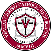VeritasChristiCatholicHighSchool_Logo_PapalRegalia