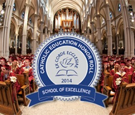 16 NAPCIS Member Schools Recognized on National Catholic HS Honor Roll
